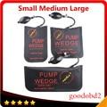 Black KLOM Pump Wedge Airbag New for Universal Diagnostic Tool Air Wedge Locksmith Tools Lock Pick Set Door Lock Opener 3pcs/Set