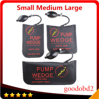 Small Medium Big Black KLOM PUMP WEDGE Airbag New For Universal Air Wedge LOCKSMITH TOOLS Lock