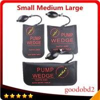 Small Medium Big Black KLOM PUMP WEDGE Airbag New For Universal Air Wedge LOCKSMITH TOOLS Lock
