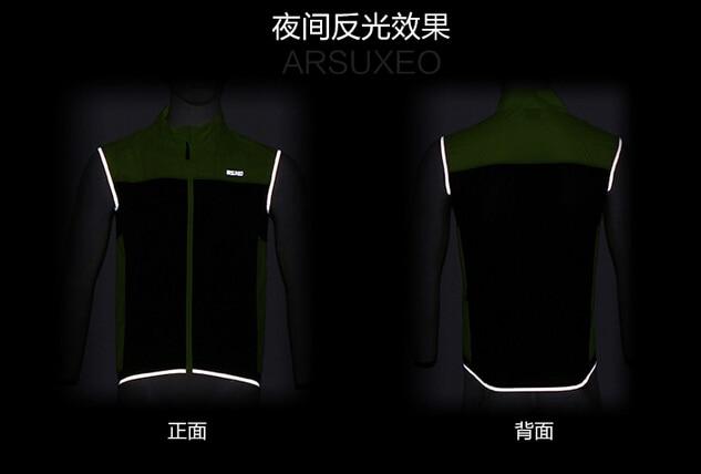 ARSUXEO տղամարդկանց հեծանվավազք Vest MTB - Հեծանվավազք - Լուսանկար 4