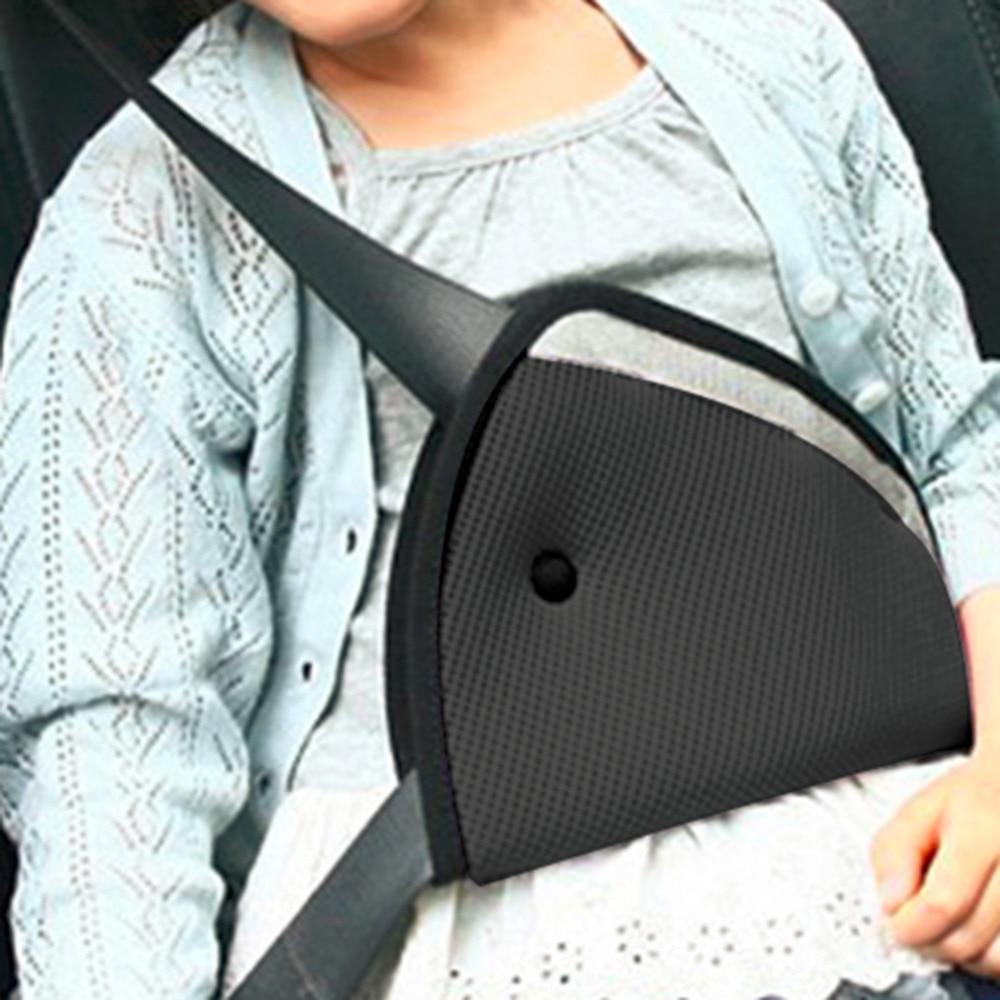 Car Safe Fit Seat Belt Sturdy Adjuster Car Safety Belt Adjust Device Triangle Baby Child Protection Baby Safety Protector