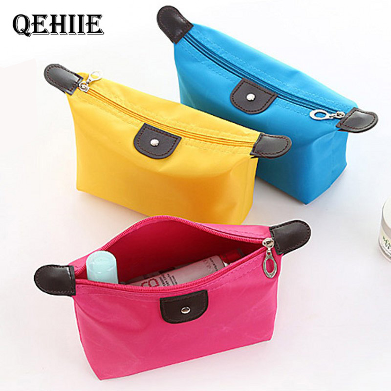 Brush Essential Beautician Cosmetic-Bag Travel-Organizer Nylon Waterproof Ladies Shop