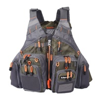 2019 New Fly Fishing Vest Backpack And Vest Combo Army Green Fishing Vest fly Fishing Jacket