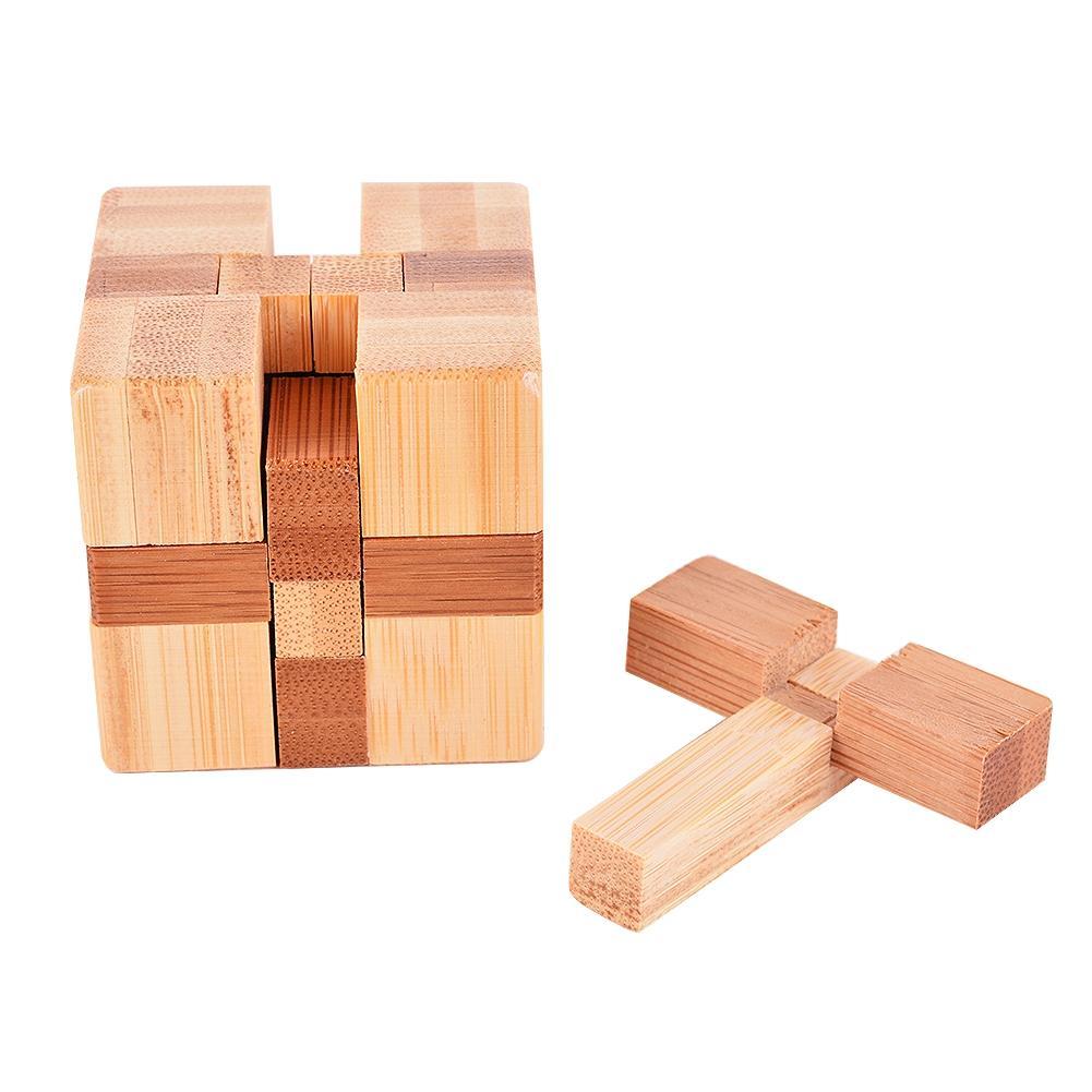 Sammeln & Seltenes 3d Holz Verriegelt Surround Schloss Logic Puzzle Grat Puzzles Gehirn Teaser Geistigen Spielzeug Magic Cube Zauberwürfel