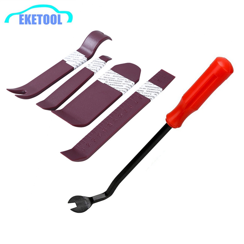 Durable Thickness 4pcs Universal Auto Removal Tools Car Audio Panel Dash Installer Pry Repair Tools Automotive Removal Clip