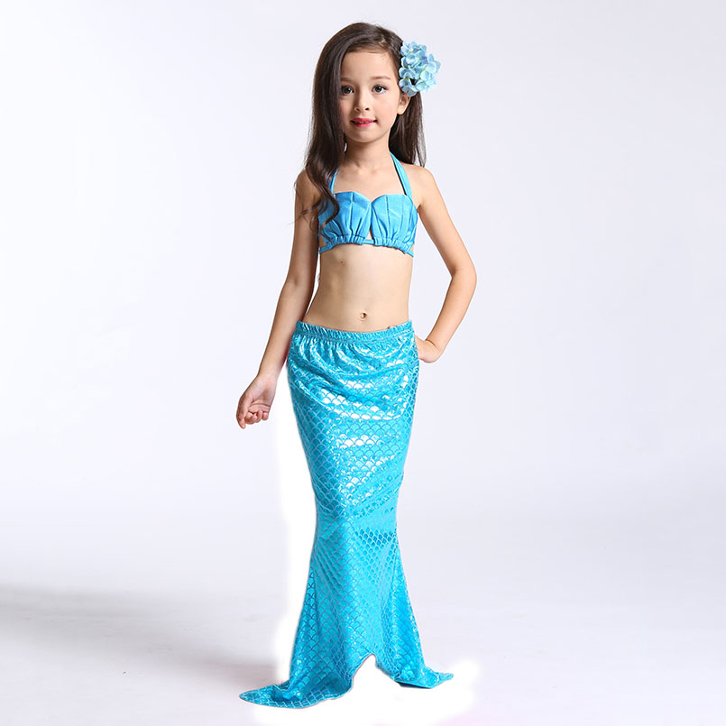 Mermaid Tail Swimming wear-blue 2