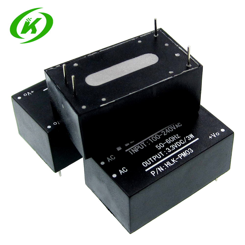 HLK-PM03 AC-DC 220V to 3.3V Step Down Buck Power Supply Module Intelligent Household Switch Converter HLK-PM03 AC-DC 220V to 3.3V Step Down Buck Power Supply Module Intelligent Household Switch Converter