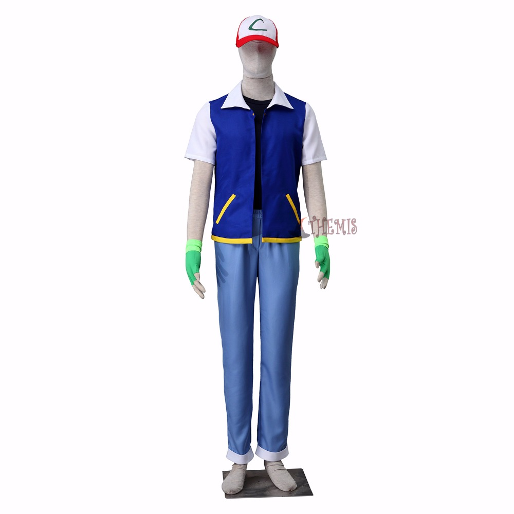 Athemis  Ash Ketchum cosplay Pocket  Monster cosplay costume OLM TEAM OTA I style  custom made size any size