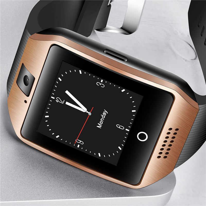 BANGWEI גברים Bluetooth חכם שעון איש נשים ספורט מד צעדים שעון LED גדול מסך צבע מגע תמיכת מסך TF כרטיס ה-SIM + תיבה