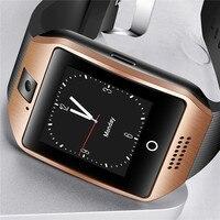 BANGWEI mężczyźni Bluetooth smart watch mężczyzna kobiet sportowe krokomierz zegar LED duży ekran kolor z ekranem dotykowym TF karty SIM + pudełko w Inteligentne zegarki od Elektronika użytkowa na