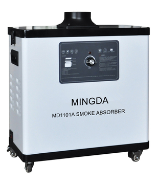 Air Cleaning Smock Absorber 100W Single Tube Dust Smock Fume Extractor Good Quality MINGDA Laser Fume Absorber Machine