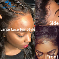Sapphire Lace Front Wig Body Wave Lace Front Human Hair Wigs For Black Women Pre Plucked Hairline With Baby Hair Bleached Knots
