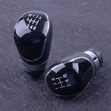 beler 5 Speed/6 Speed Plastic Car Accessories Manual Gear Shift Stick Knob Fit For Ford Fiesta MK7 Focus MK3 C-Max B-Max