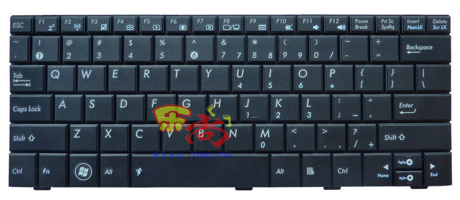 FOR ASUS Eee PC 1005PX 1005PXD US version black laptop keyboard