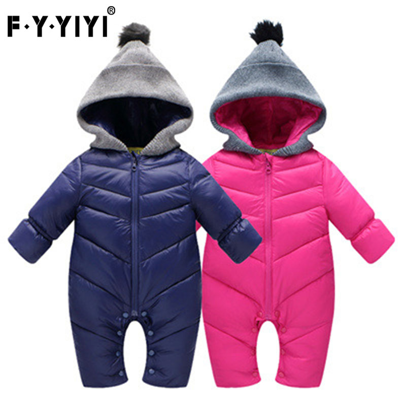 Christmas Baby Jumpsuit conjoined clothes Feather cotton Feather cotton Thickened Children climbing clothes hetty feather s christmas