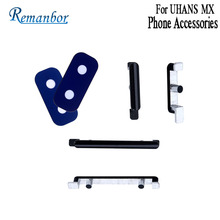 Remanbor For UHANS MX Rear Back Camera Lens Power Button Volume Button Assembly Replacemen