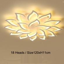 New led Chandelier For Living Room Bedroom Home chandelier by sala Modern Led Ceiling Lamp Lighting