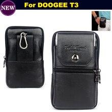 Для Doogee T3 Чехол-Зажим для ремня чехол талии кошелек натуральная кожа чехол для Doogee T3 телефона Бесплатная доставка