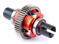 CNC metal complete diff gear set for rc car