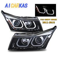 AICARKAS LED Headlight Assembly for Chevrolet Cruze 2011 2012 2013 2014 Cruze Chevrolet Projector Headlamp Left and Right 1 Set