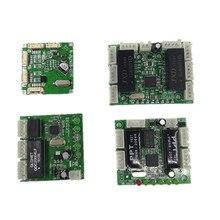 Mini การออกแบบโมดูล ethernet switch แผงวงจรสำหรับโมดูลสวิทช์ ethernet 10/100 mbps 5/8 พอร์ต PCBA คณะกรรมการ OEM เมนบอร์ด