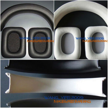 Replacement Ear Pads Headband Cushion Group For Monster  Inspiration Over Ear Headphone