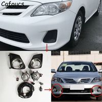 Cafoucs For Toyota Corolla 2011 2012 2013 Car Front Fog Lith Assembly With Bulbs Fog Lamp Switch Harness Relay