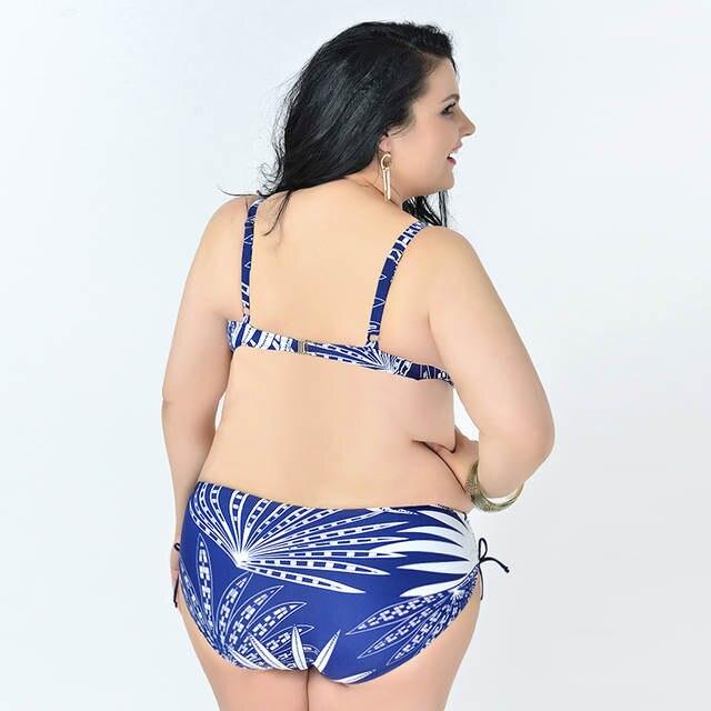 eb30de440f3 placeholder プラスサイズビキニストライプビキニ女性のセクシーな水着ブラジル Biquinis 巨乳女性プッシュアップ
