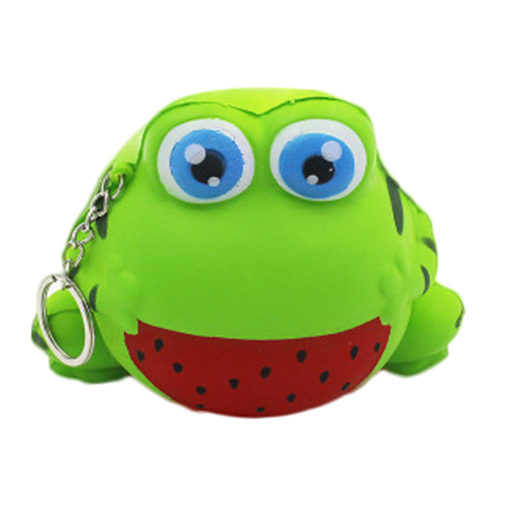 1Pcs Cute Kawaii Frog Doll Super Slow Rising <font><b>Phone</b></font> Straps Sweet Cream Scented Bread <font><b>Kid</b></font> Xmas <font><b>Toy</b></font>