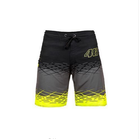 MotoGP Motorcycle Cycling VR46 Boarder Shorts Valentino Rossi Vale Fortysix Beachwear