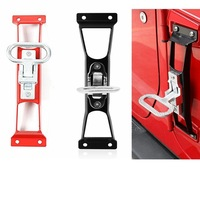 For Jeep JK Accessories Foot Pedal Door Hinges Foot Pedal Peg For Jeep Wrangler JK 2007 2017 Exterior Parts