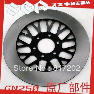 FREE SHIPPING OEM QUALITY FRONT DISK BRAKE GN250 GZ250 NEW PATTERN GN400 GN400 GS250 GS450 BRAKE DISC / ROTOR