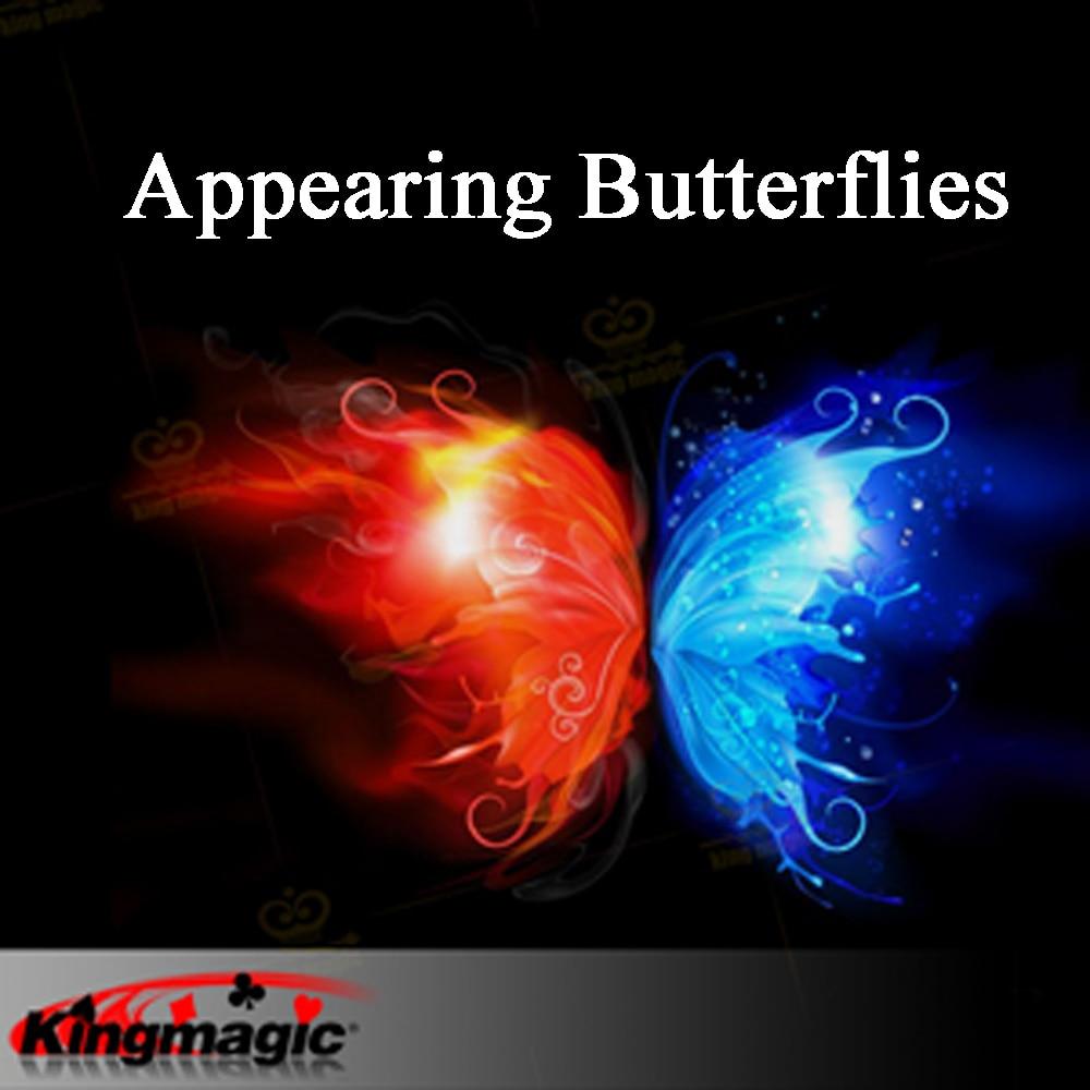 Appearing Butterflies 10pcs Magic tricks Close up Magic Stage Magic