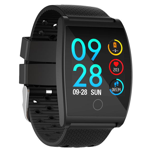 1e1f0559912c90 2018 Smart Watch QS05 Wristband With Blood Pressure Blood Oxygen Heart Rate  Monitor Sports Activity Tracker Fitness Smartwatch-in Smart Watches from ...