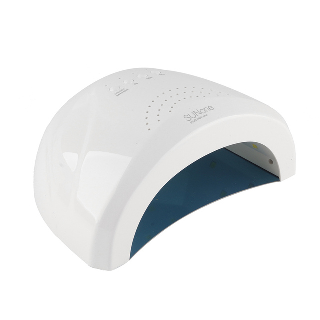 Home Use Nail Dryer White Light UV Ray Lamp Curing Fingernail Both ...
