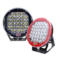 TNOOG 1pcs 12V 24V 9 inch 96W Round LED Work Light Spot Flood beam For 4x4 Offroad Truck Tractor ATV SUV Driving Lamp