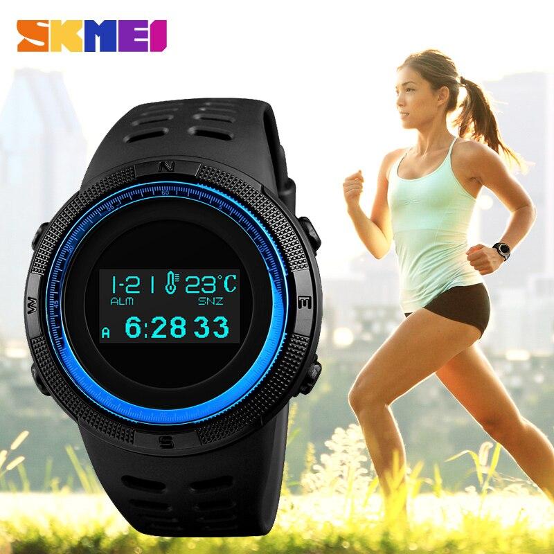 SKMEI люксовый бренд калорий шагомер мужские спортивные часы мужские цифровые военные часы повседневные часы наручные часы Relogio Masculino