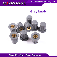 5PCS Grey knob button cap is suitable for high quality WXD3-13-2W – turn around special potentiometer knob