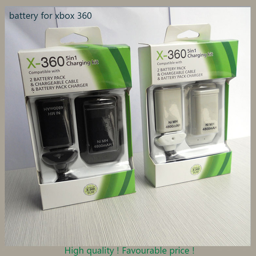 Xbox 360 controller battery pack