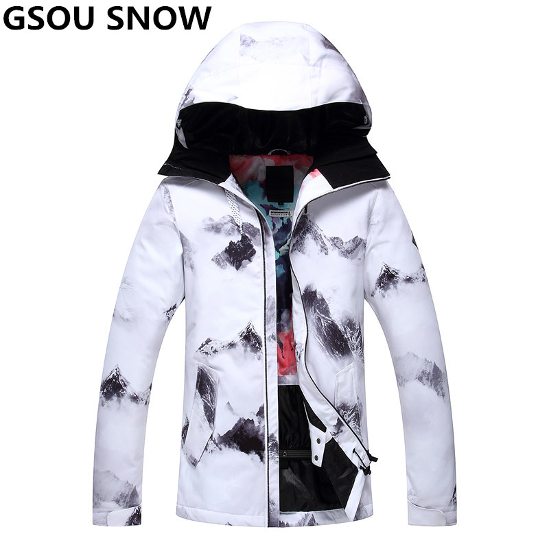 gsou snow new womens ski jacket snowboard girls snow jacket waterproof 10000 windproof super. Black Bedroom Furniture Sets. Home Design Ideas