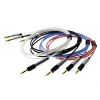 TD87 Kopfhörer Kabel für Sennheiser HD598 HD558 HD518 HD 598 Headset Ersatz Kopfhörer 3,5mm bis 2,5mm Stereo Bass Audio Draht