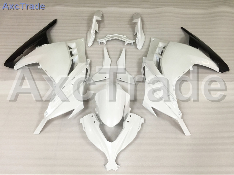 Motorcycle Fairings For Kawasaki Ninja 300 ZX300 EX300 2013 2014 13 14 ABS Plastic Injection Fairing Bodywork Kit White A711 motorcycle fairing kit for kawasaki ninja zx10r 2006 2007 zx10r 06 07 zx 10r 06 07 west white black fairings set 7 gifts kd01