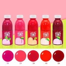 NOVO Fruit Liquid Matte Lipstick Waterproof Long Lasting Tattoo Lip Gloss Moisturizing Lip Tint Lipgloss Mate Labial