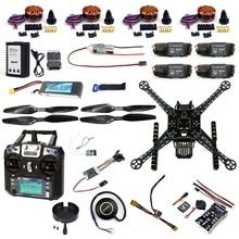 DIY RC Drone Full Kit 4 Axle S600 Frame PIX 2 4 8 Flight Control Buzzer