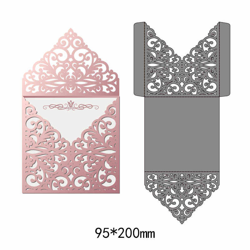 Hollow envelope Metal Cutting Dies For Scrapbooking Carbon steel Die Embossing Dies Cut Stencils DIY Decorative Cards
