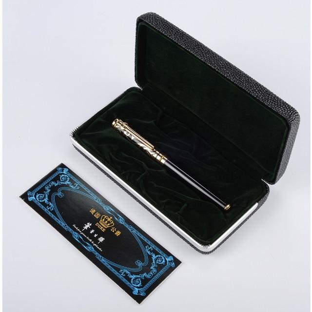 Шариковая Ручка роллер, высококачественные золотистые, синие, каменные и Серебристые, красные, черные чернила для ручки, подарочные ручки среднего размера, бесплатная доставка