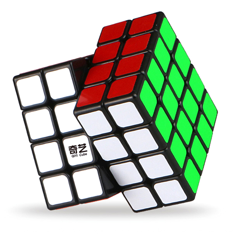 QIYI Professional 4X4X4 Cube Speed For Sticker Puzzle Cube AntistressToy Neo Rubix Cubo Magico For Children Education Toy