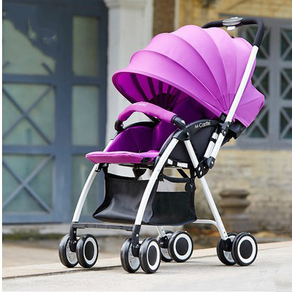 baby stroller Lightweight summer umbrella stroller car trolley children can sit or lie