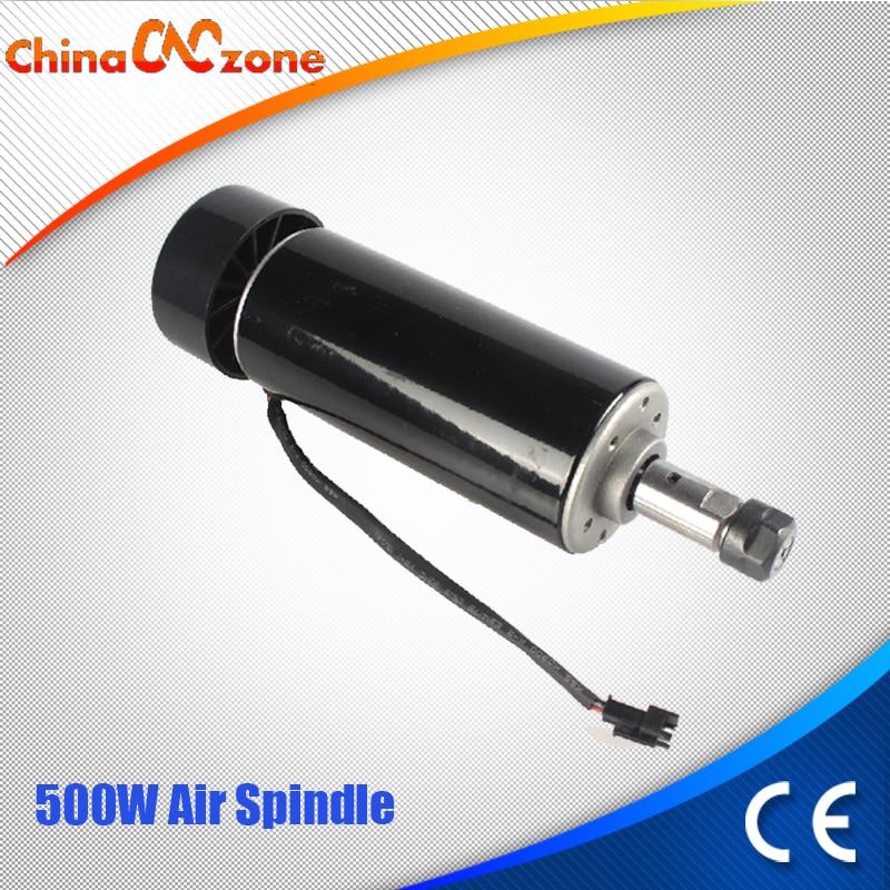 0 5KW 52MM ER11 CNC Spindle Motor 500W Spindle Motor DIY CNC 500w Spindle Motor For