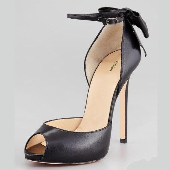 Noir d0439 Belle Nouvelles Mince Taille Nude Dames 10 Black Cheville Toe Nous D0439 Sandales Talons Peep Hauts Yifsion Nu Plus 5 Occasionnel Femmes Chaussures 3 Sangle rCBoWdxe